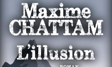 couverture roman l'illusion de maxime chattam éditions albin michel