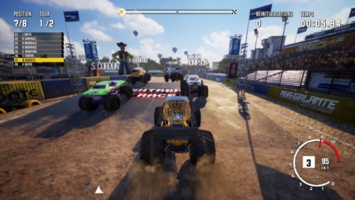 image gameplay monster truck championship
