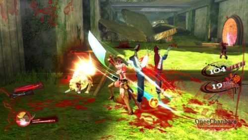 image gameplay oneechanbara origin