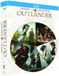 image saison 1 à 5 coffret outlander