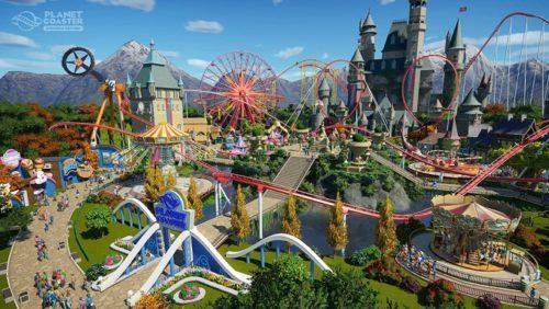 image jeu planet coaster console edition