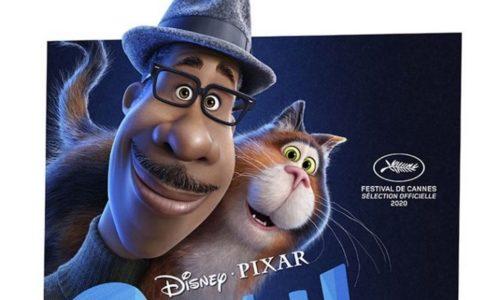gros plan affiche France soul du studio pixar