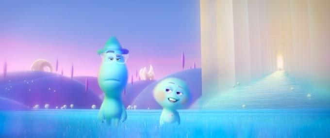 joe et 22 dans l'entre-deux dans soul de pete docter pixar