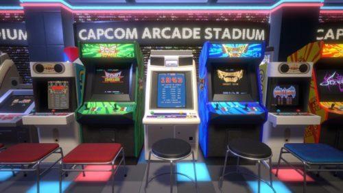image test capcom arcade stadium