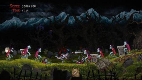 image gameplay ghosts n goblins resurrection