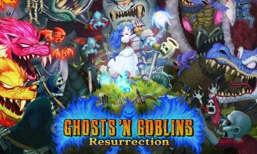 image jeu ghosts n goblins resurrection