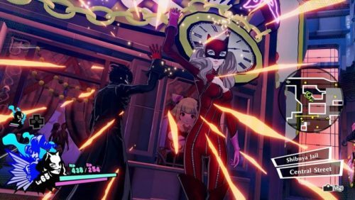 image gameplay persona 5 strikers