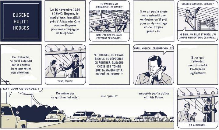 Extrait de La Météorite de Hodges de Fabien Roché.