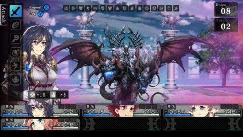 image gameplay saviors of sapphire wings