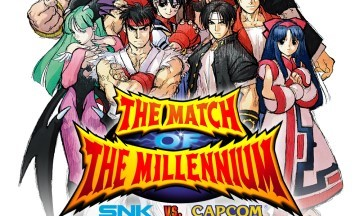 image jeu snk vs capcom match of the millenium
