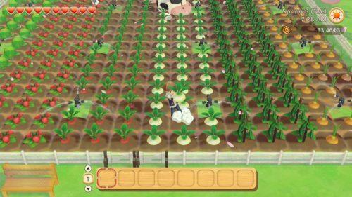 image gameplay story of seasons pioneers of olive ville