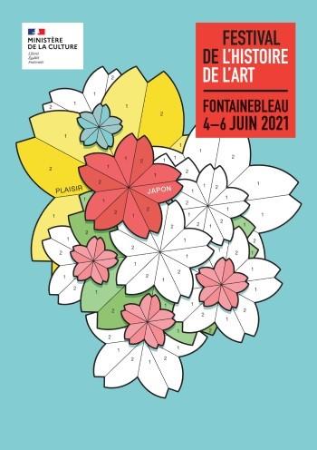 affiche festival de l'histoire de l'art 2021 fontainebleau