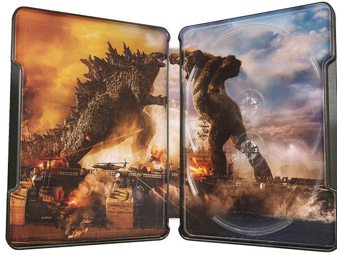 image intérieur steelbook blu ray 4k godzilla vs kong
