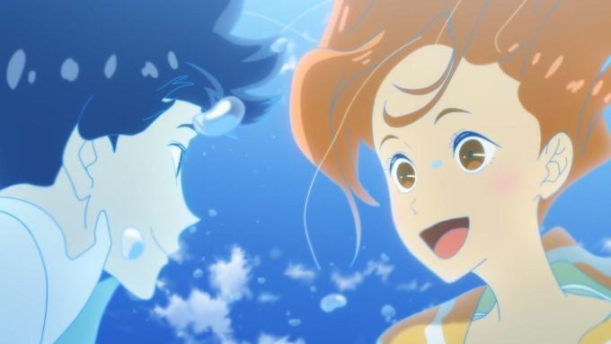 minato le pompier fantôme et hinako la surfeuse dans ride your wave