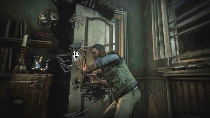 attaque de the presence dans le jeu vidéo song of horror sur ps4