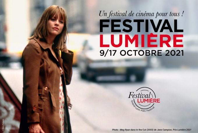affiche du festival lumière 2021 - version in the cut de jane campion