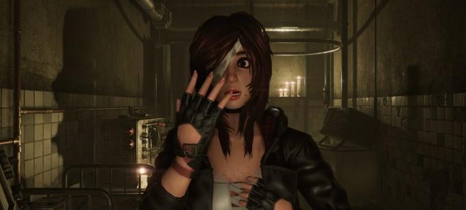 caroline walker dans le jeu vidéo tormented souls sur ps5